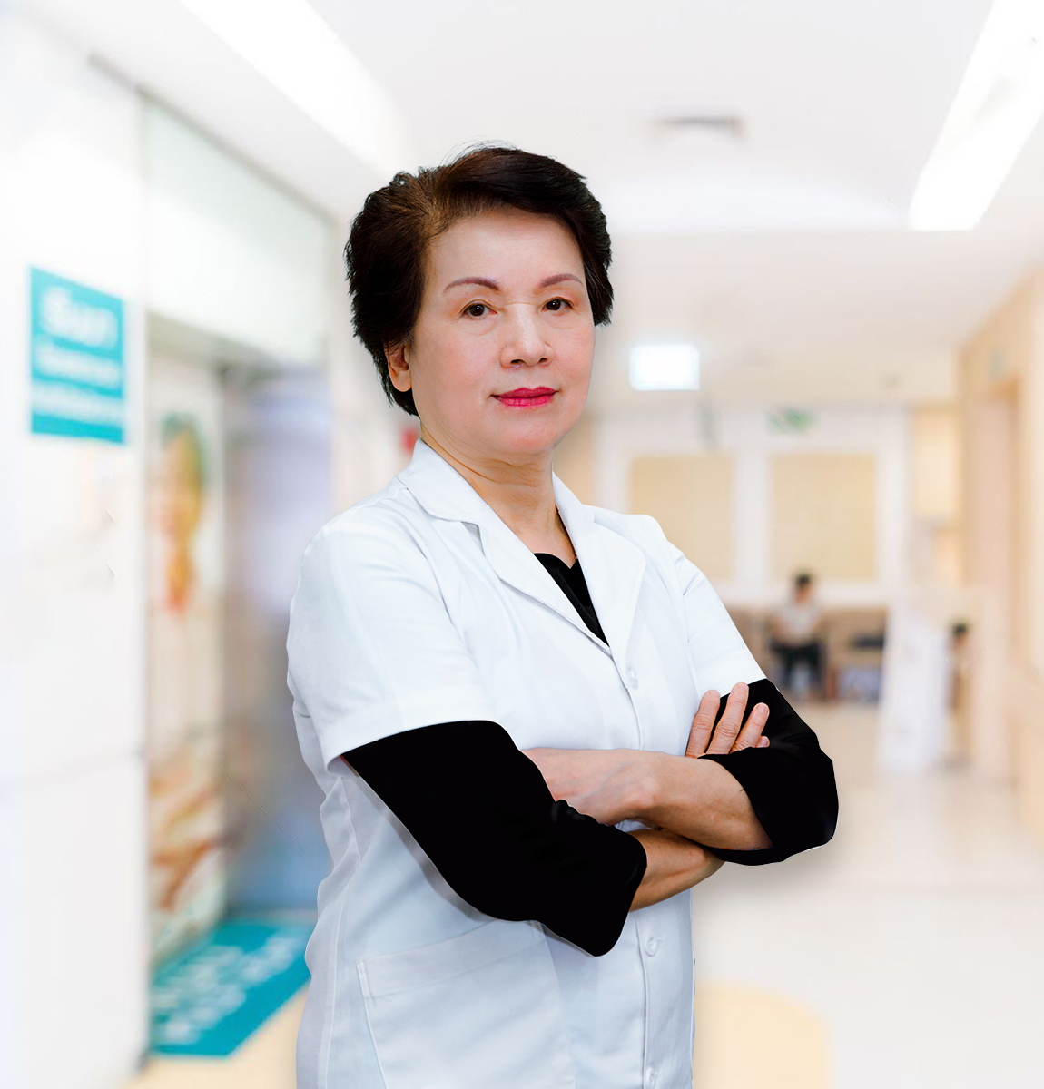 PGS.TS. Nguyễn Thị Ngọc Dinh (Nguyên Giám đốc bệnh viện Tai mũi họng TW)