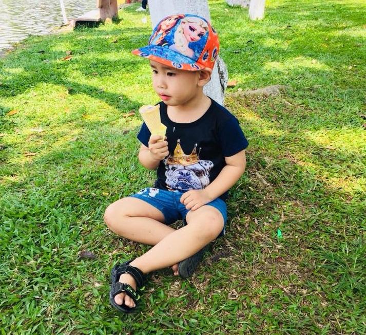 Bé Việt – con trai chị Tùng, anh Quốc (Ảnh: NVCC)