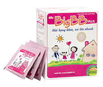 BigBB Plus với Kha tử dược liệu đầu bảng giúp long đờm, giảm ho