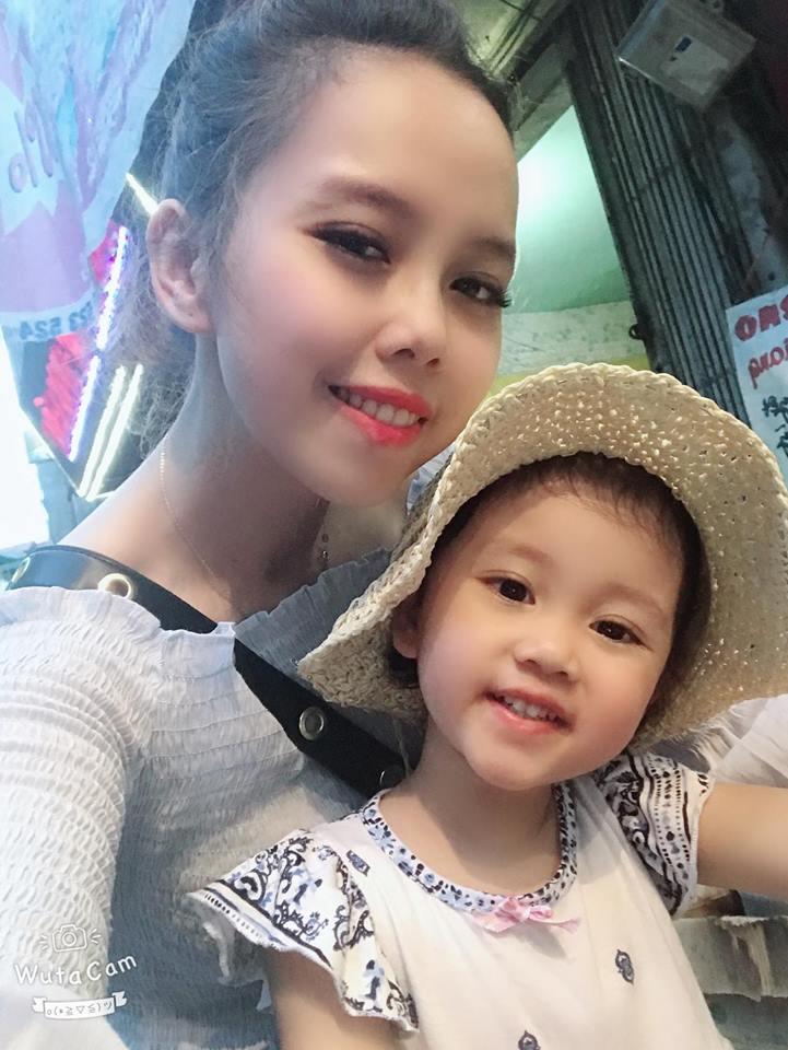 Chị Hoài Anh và bé Chun (Ảnh NVCC)